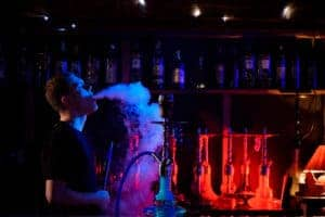 Fire Temple hookah lounge